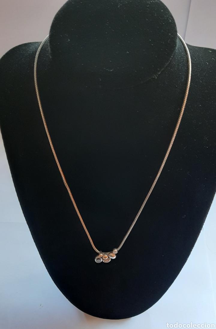 Joyeria: Collar + colgate de plata RAUFF 925 S Y colgante de amatista turmalina y circonita . - Foto 9 - 202721871