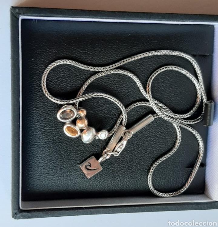 Joyeria: Collar + colgate de plata RAUFF 925 S Y colgante de amatista turmalina y circonita . - Foto 10 - 202721871