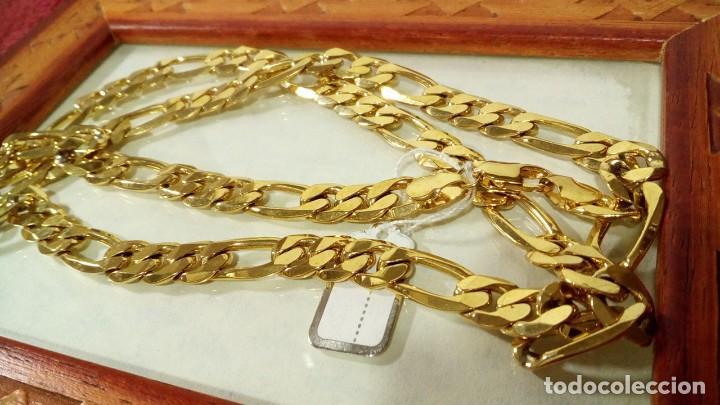 Joyeria: CADENA FIGARO GOLD FILLED 18K 9MM X 70CM - Foto 3 - 173867107