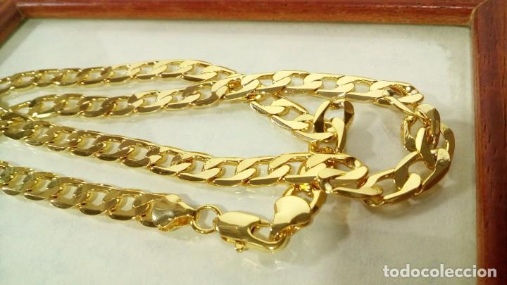 Joyeria: CADENA CUBANA GOLD FILLED 18K - 7MM X 55CM - Foto 3 - 203065536