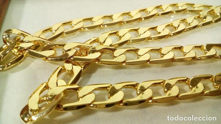 Joyeria: CADENA CUBANA GOLD FILLED 18K - 7MM X 55CM - Foto 4 - 203065536