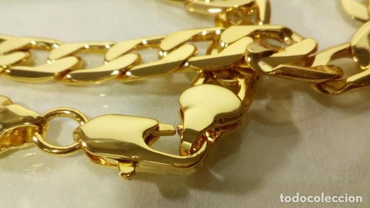 Joyeria: CADENA CUBANA GOLD FILLED 18K - 7MM X 55CM - Foto 5 - 203065536
