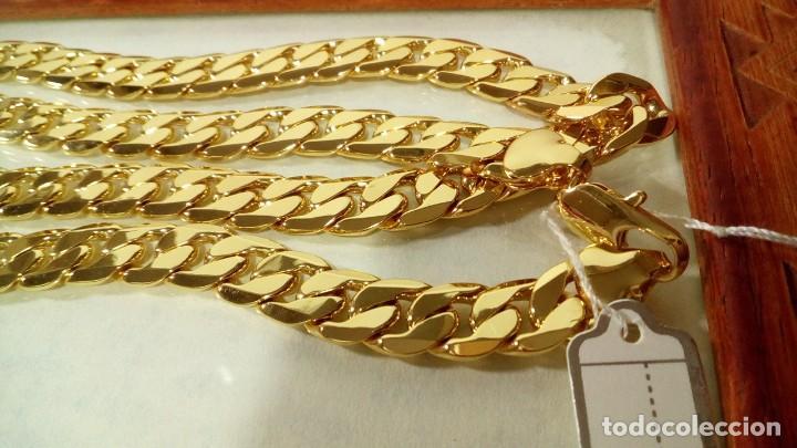 Joyeria: CADENA CUBANA GOLD FILLED 18K 10MM X 60CM - Foto 3 - 203066112