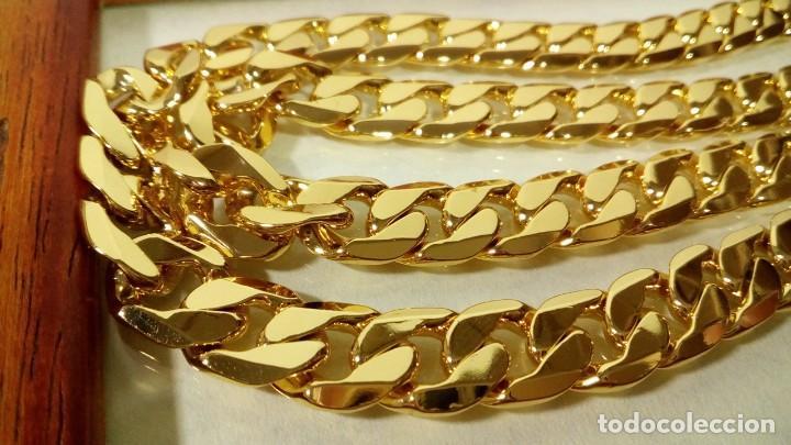 Joyeria: CADENA CUBANA GOLD FILLED 18K 10MM X 60CM - Foto 4 - 203066112
