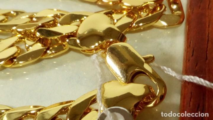 Joyeria: CADENA CUBANA GOLD FILLED 18K 10MM X 60CM - Foto 5 - 203066112