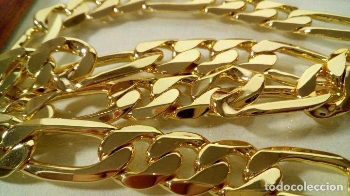 Joyeria: CADENA FÍGARO GOLD FILLED 18K 10MM X 60CM - Foto 3 - 203073223