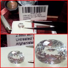 Joyeria: NATURAL KUNZITE AFGANISTAN PINK VERY LIGHT 2.86 CTS. Lote 203189528