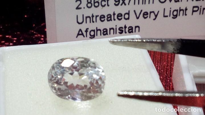 Joyeria: NATURAL KUNZITE AFGANISTAN PINK VERY LIGHT 2.86 CTS - Foto 4 - 203189528