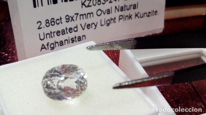 Joyeria: NATURAL KUNZITE AFGANISTAN PINK VERY LIGHT 2.86 CTS - Foto 6 - 203189528