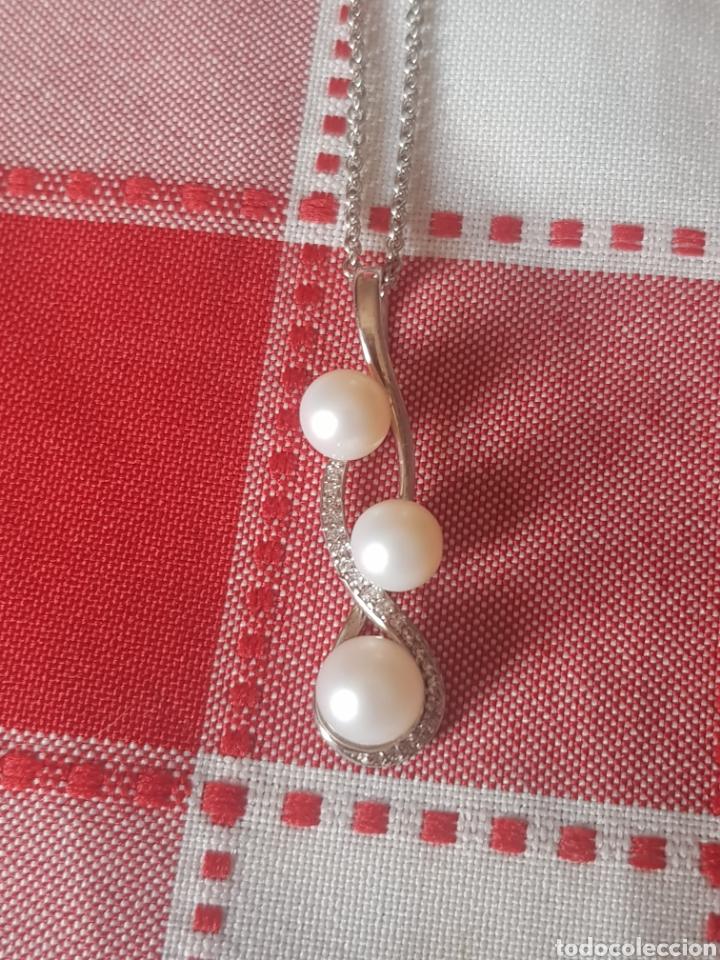 Joyeria: Lindissimo cadena de marca de lujo MATY con su colgante con cristales y perlas de cultura - Foto 5 - 203258376