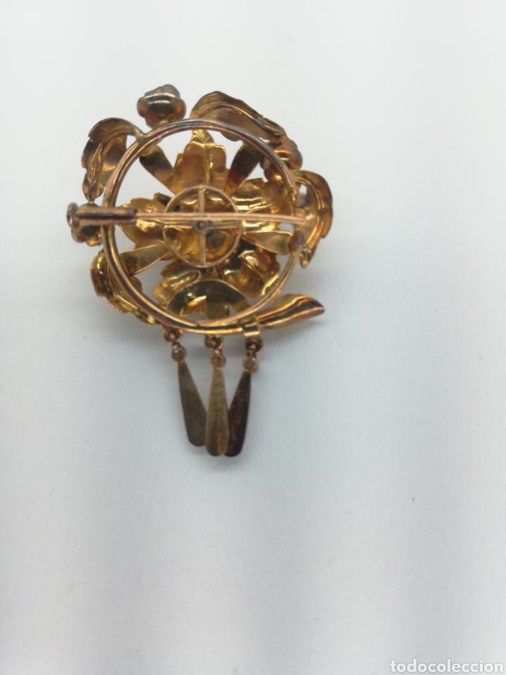 Joyeria: Broche antiguo de oro y diamantes - Foto 3 - 203566556