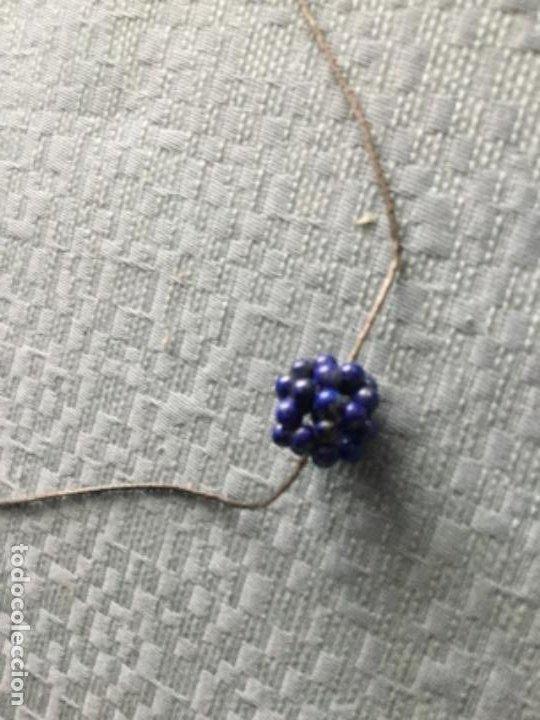 Joyeria: Cadena de plata y colgante de lapislázuli - Foto 4 - 203593502