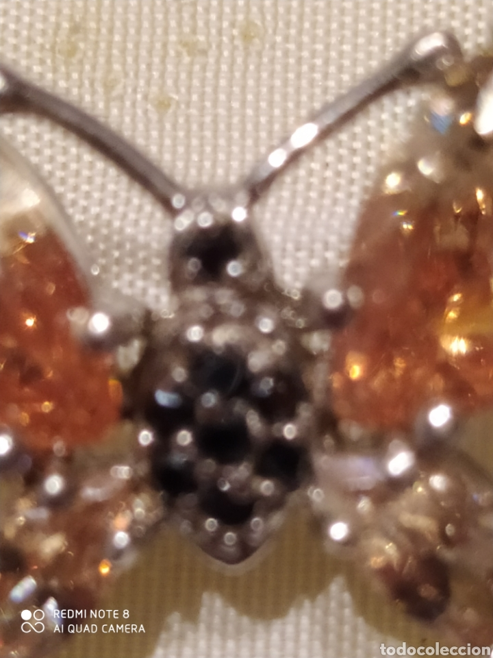 Joyeria: Broche mariposade plata de ley - Foto 4 - 203726673
