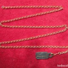 Joyeria: CADENA DE ORO GOLD FILLED 14/20 KLTS. GILCO. Lote 203765635