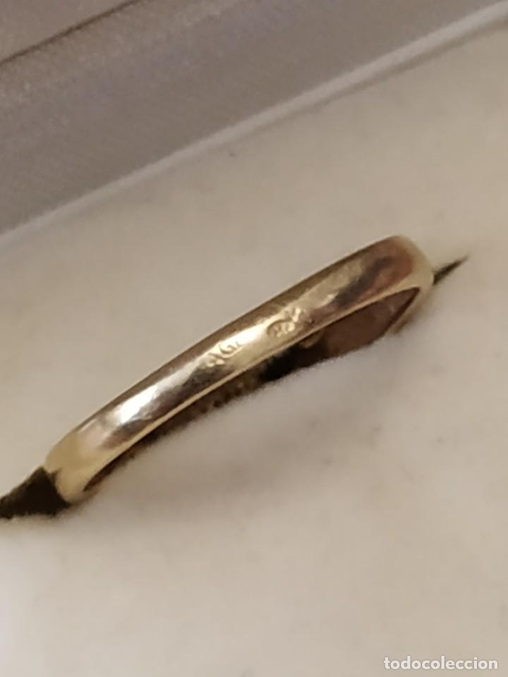 Joyeria: Conjunto anillo y pendientes oro 18kt - Foto 5 - 143693480