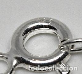 Joyeria: CADENA TOBILLERA DE PLATA DE LEY CONTRASTADA.21,5 CM + 4,5 CM CADENA DE ALARGO. 2,3 GRAMOS.VER FOTOS - Foto 10 - 204283068