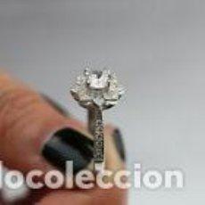 Joaillerie: ANILLO SOLITARIO LLENADO PLATA 925S CONTRASTADA.. Lote 204623736