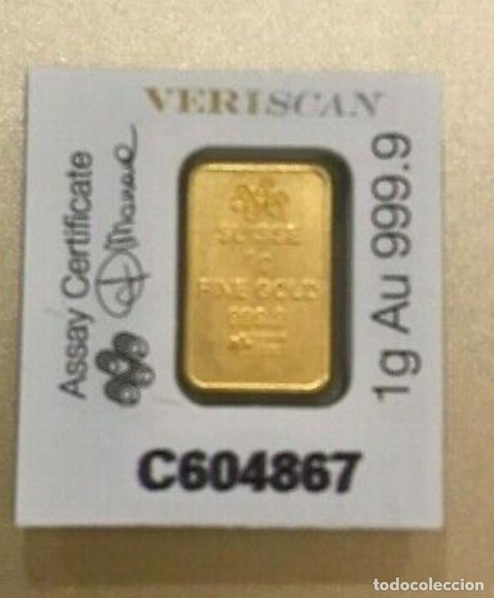 Joyeria: Super lote Lingotes y billetes, 1 Gramo de oro puro,1grain, 2 NZP todos 24K y 2 billetes plata,9,99 - Foto 8 - 201365881