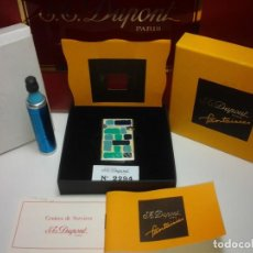 Joyeria: ST DUPONT PARIS FANTAISIES LIGHTER 6 PIECES.TWO OF THEM REPEATED.. Lote 206471615