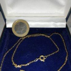Joyeria: BONITA CADENA ANTIGUA FINA.. EN ORO 18K GF GOLD FILLED. Lote 206790687