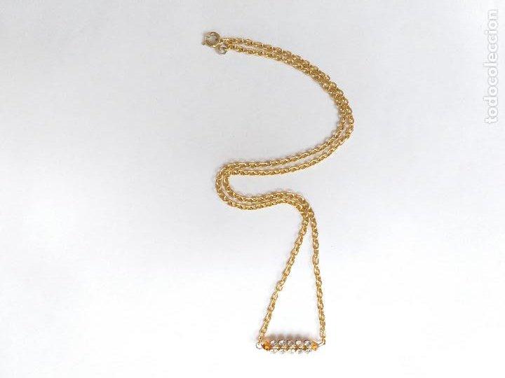 Joyeria: Cadena dorada con colgante. - Foto 4 - 206841220