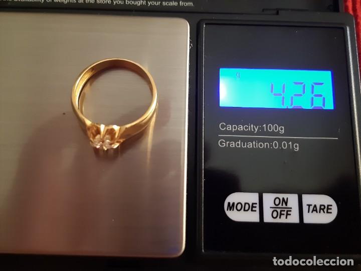 Joyeria: Gran solitario oro con circonita - Foto 10 - 184351343
