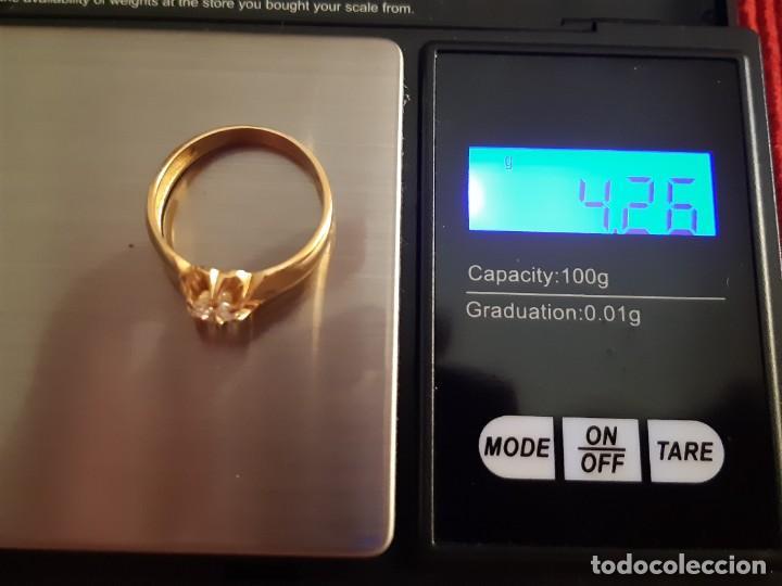 Joyeria: Gran solitario oro con circonita - Foto 11 - 184351343