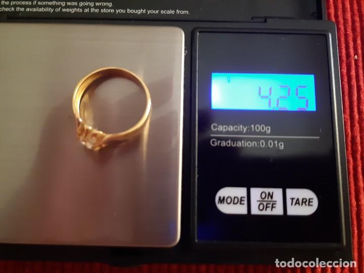 Joyeria: Gran solitario oro con circonita - Foto 12 - 184351343