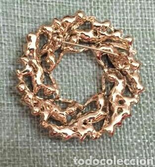 Joyeria: Broche estilo art. Decó. Onix y circonitas. Acabado en oro. - Foto 2 - 207394885