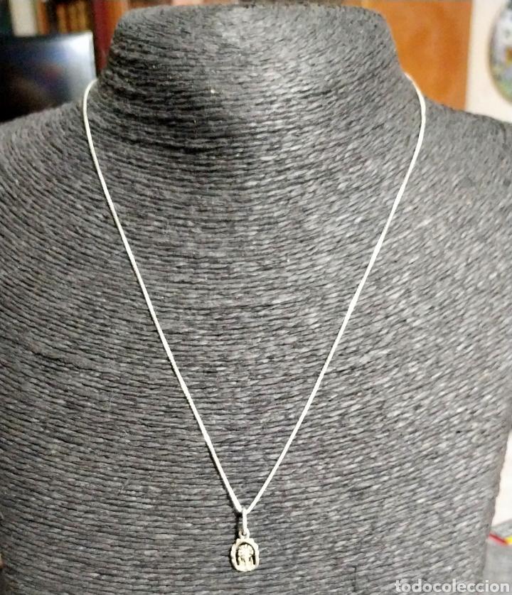 Joyeria: Cadena de plata con colgante - Foto 2 - 207539166