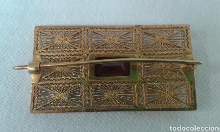 Joyeria: Broche oro y granate - Foto 2 - 207744241