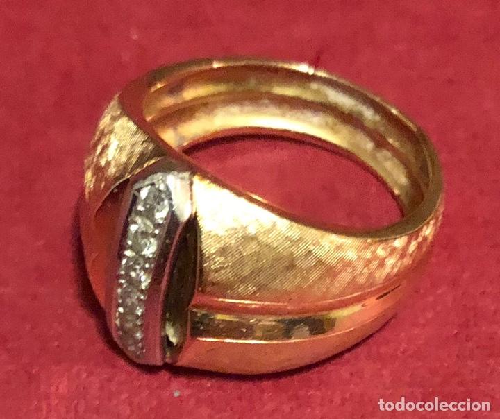 Joyeria: Maravilloso anillo en oro de 18K, y brillantes. - Foto 2 - 208965931