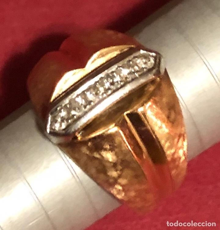 Joyeria: Maravilloso anillo en oro de 18K, y brillantes. - Foto 5 - 208965931