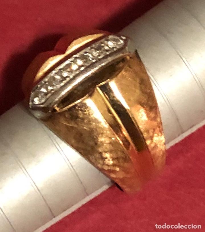 Joyeria: Maravilloso anillo en oro de 18K, y brillantes. - Foto 6 - 208965931