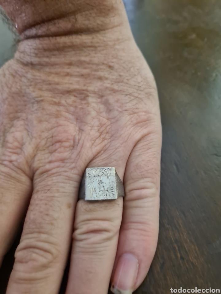 Joyeria: Anillo para caballero con compartimiento secreto en plata de ley 925 - Foto 2 - 209839220