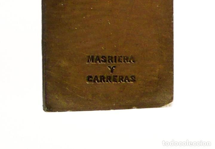 Joyeria: Masriera y Carreras- Colgante cruz / crucifijo de plata, esmalte y marfil - Art Decó Ca.1930-40 - Foto 5 - 210197943