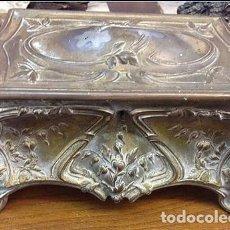Joyeria: JOYERO LABRADO GRANDE ROCOCO FRANCIA SIGLO XVIII .ORIGINAL....25 X 16 X 12 CM.. Lote 210266822