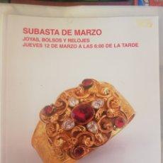Joyeria: SUBASTAS SEGRE, 12 DE MARZO 2015. Lote 210384863