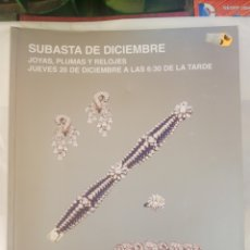 Joyeria: SUBASTAS SEGRE, DICIEMBRE 2012. Lote 210384956