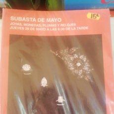 Joyeria: SUBASTAS SEGRE, SUBASTAS DE MAYO, 2014. Lote 210385413