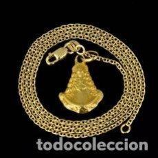 Joyeria: COLLAR CON COLGANTE DE ORO AMARILLO DE 18 QUILATES - 4.68 G. Lote 210833447