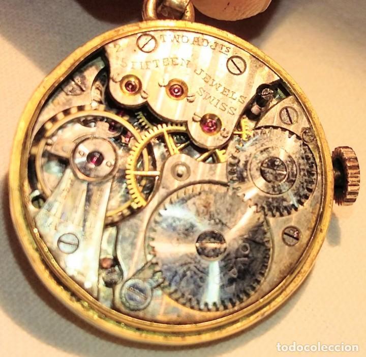 Joyeria: Reloj Cronometro Movado. De primeros de siglo XX. Funciona. - Foto 5 - 211256499