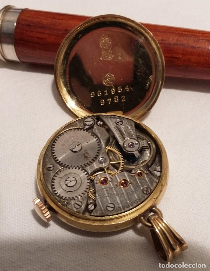 Joyeria: Reloj Cronometro Movado. De primeros de siglo XX. Funciona. - Foto 4 - 211256499