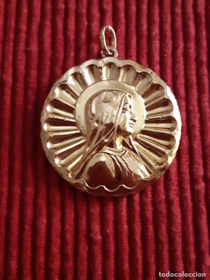 Joyeria: Grandiosa medalla oro 18 quilates - Foto 2 - 211421227