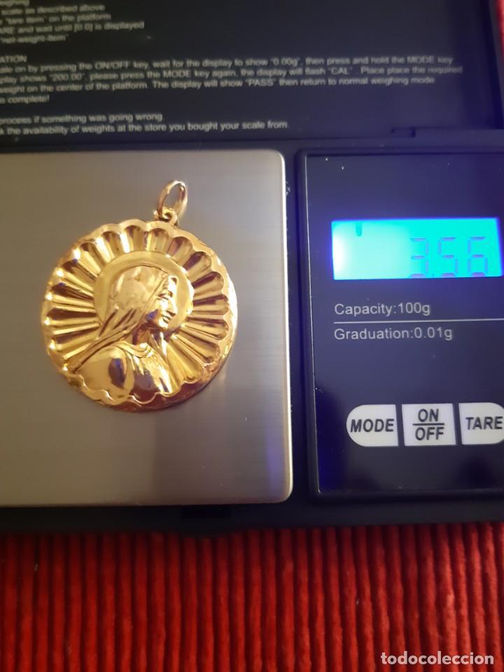 Joyeria: Grandiosa medalla oro 18 quilates - Foto 7 - 211421227