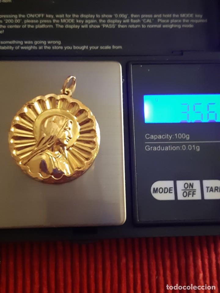 Joyeria: Grandiosa medalla oro 18 quilates - Foto 8 - 211421227