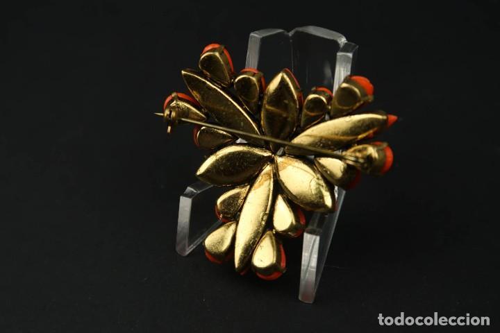 Joyeria: Antiguo Conjunto Broche y Pendientes de Clip - Foto 8 - 211926348