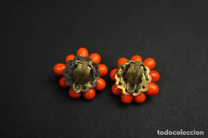 Joyeria: Antiguo Conjunto Broche y Pendientes de Clip - Foto 12 - 211926348