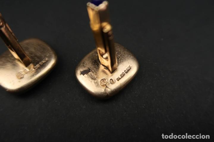 Joyeria: Antiguos Gemelos Chapados en Oro - Foto 7 - 211926446