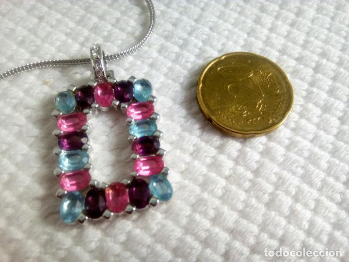 Joyeria: Precioso colgante cristal Swarovski con cadena de 56cm. Sin estrenar. - Foto 4 - 212404690